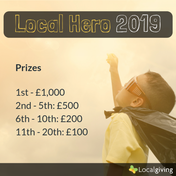 Local Hero 2019 Prizes